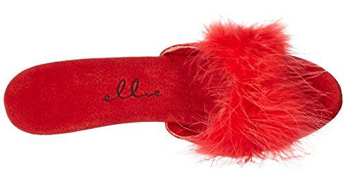 Ellie Shoes Red SASHA 361 Women's Slipper UqYPw74q