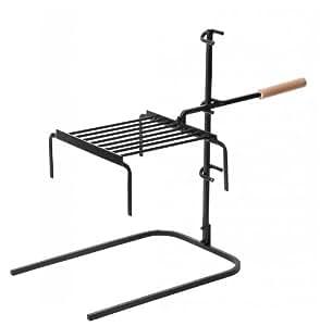 Barbecook 223.0941.000 - Parrilla regulable para chimenea