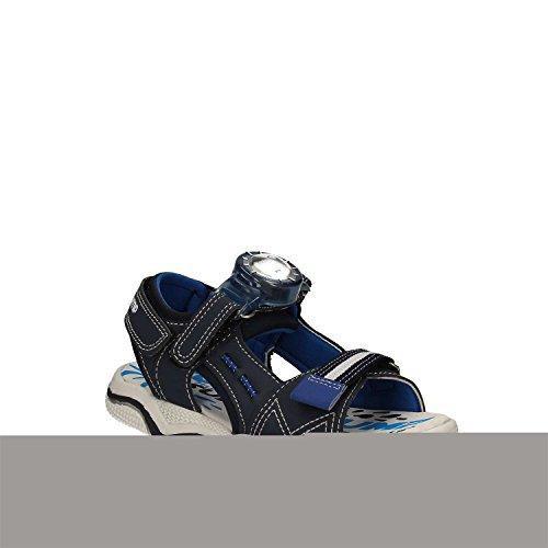 bébé COLLEZIONE JEANS BLUE sandales SUPERJUMP Blue chaussures VICTOR AMERICA SJ2974 HRptA