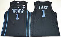 2017 Duke Blue Devils Harry Giles 1 College Basketball Mens Jersey Black L