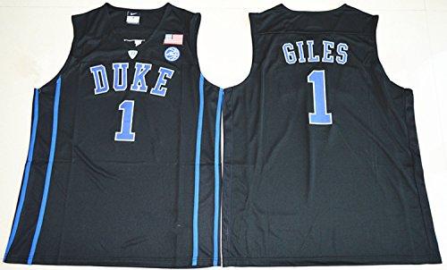 2017 Duke Blue Devils Harry Giles 1 College Basketball Mens Jersey Black S