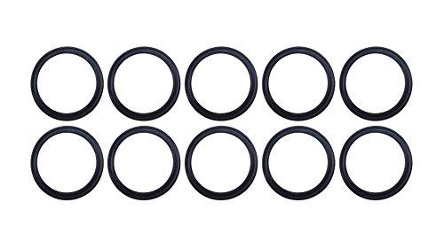 Sterling Seal XP75VIT112X10 112 75D Quad Ring, Viton/FKM, Black (Pack of 10) by Sterling Seal & Supply, Inc. (STCC)