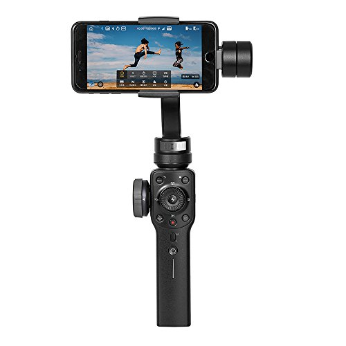 Zhiyun Smooth 4 3-Axis Handheld Gimbal Stabilizer for Smartphones, Black