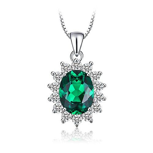 Genuine Created Emerald Solitaire - 6