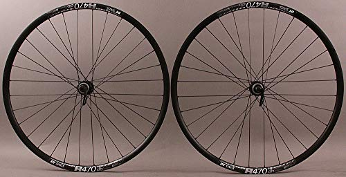 (DT R 470 Road Disc Brake Gravel CX Bike Wheelset 32 Hole Shimano RS505 hubs QR)