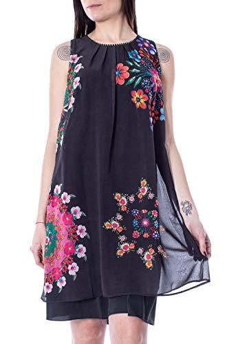 Sacha Noir Femme Vest Courte Desigual Robe 19swvw47 SOZUZ1x