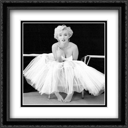 Amazon.com: Marilyn Monroe, Ballet Dancer 2x Matted 24x24 Large ...