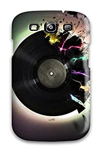 ZippyDoritEduard Perfect Tpu Case For Galaxy S3/ Anti-scratch Protector Case (music Art )
