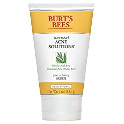 Burt's Bees Natural Acne Solutions Pore Refining Scrub, 4 Ounces