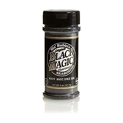 Gourmet All-Purpose Seasoning Black Magic White Magic Original Dry Rub Spice Powder Best Served on Grilled Meat, Vegetables, Steaks, Roasted, Stewed, Baked and Fried Gourmet Dishe by Mis' Rubin's Seasonings