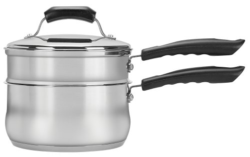 Range Kleen 3 Piece 2 Quart Double Boiler Set