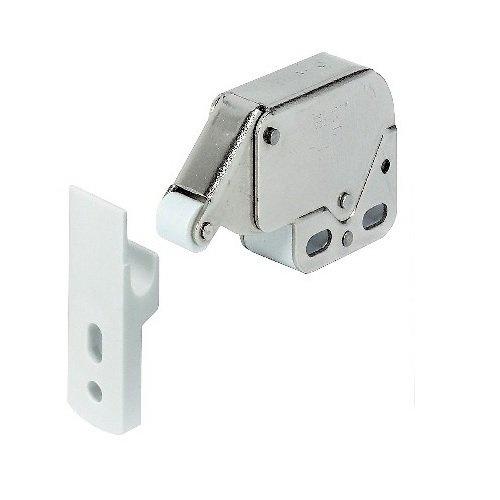 Push Button Catch Caravan Motorhome Door Lock Brown 16mm