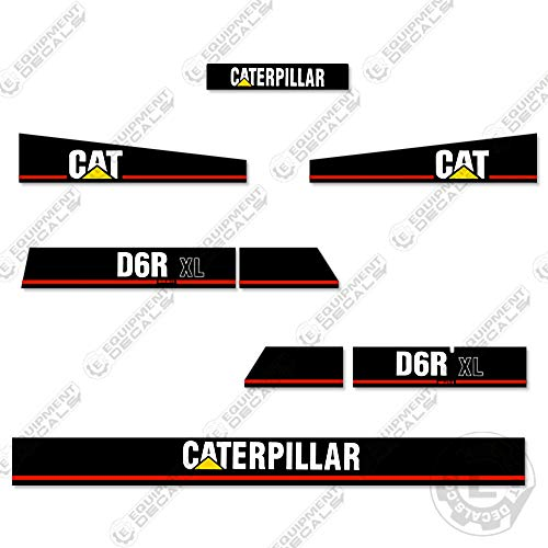 Caterpillar D6R XL Series 2 Crawler Tractor Dozer Decal for sale  Delivered anywhere in USA