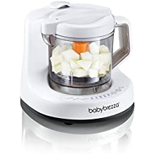 Baby Brezza Baby Food Maker Machine  - One Step Steamer and Blender - Puree Baby Food For Pouches - Mixes Organic Food for Infants and Toddlers