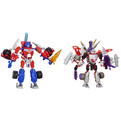Transformers Construct-Bots Optimus Prime Vs. Megatron Construction Set