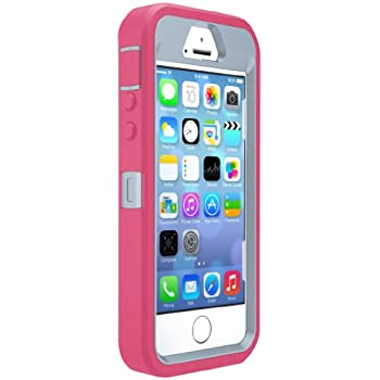 Amazoncom otterbox defender series case for iphone 5 5s for Iphone 5 in the wild bangkok