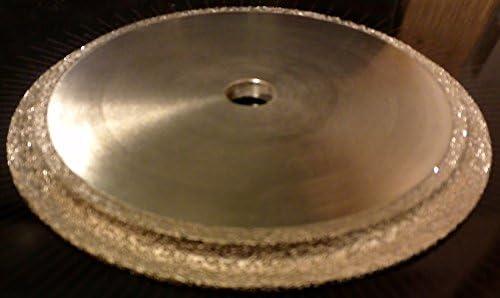 3/16-inch Radius Demi Bull Nose Profile Wheel for Rounding Over Tile Edge Profiling