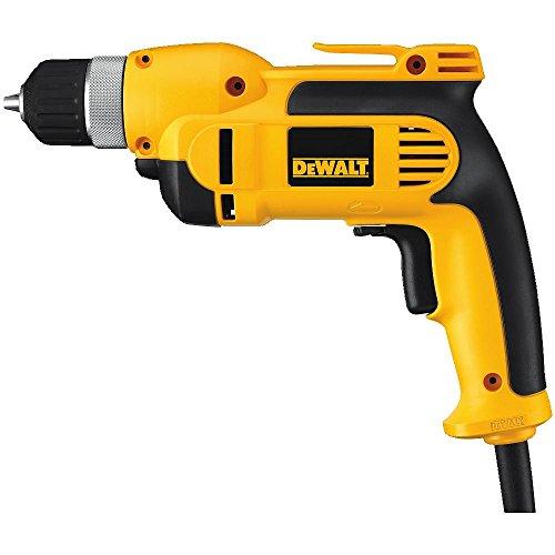 DEWALT DWD110K 8.0 Amp 3/8-Inch VSR Pistol Grip Drill Kit with Keyless Chuck by DEWALT (Image #1)