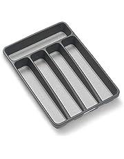 Madesmart Classic Mini Silverware Tray, Granite