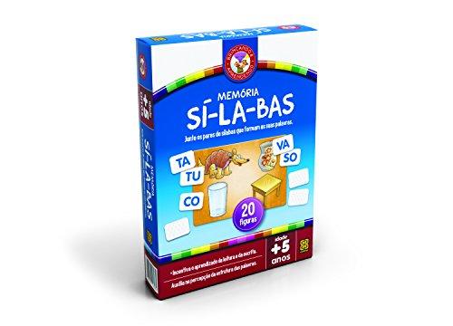 Jogo da Memoria Silabas 20 Prêmios Grow
