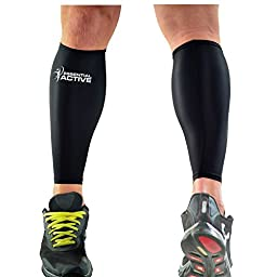 Compression Calf Sleeves / Boost Performance, Increase Endurance, Better Circulation, Speed Up Recovery & Ease Leg Pain / For Runners, Nurses, Shin Splints, Flights & Pregnancy / Free Running Manual.