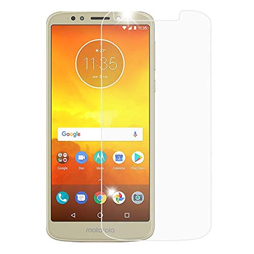 (Insten Clear Tempered Glass LCD Screen Protector Shield Guard Film Compatible with Motorola Moto E5 Cruise/E5 Play)