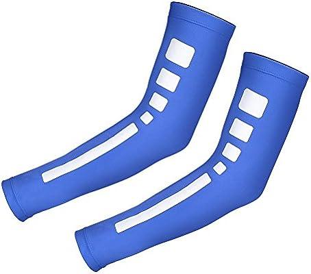 Manguito de compresión del brazo Sport Sunblock Protección del ...
