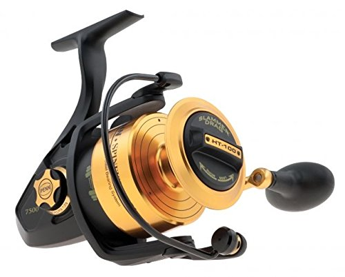 PENN Spinfisher V Spinning Reel 7500, 4.7:1 Gear Ratio, 36'' Line Retrieve, 20 Lb Max Drag, Ambidextrous by Penn