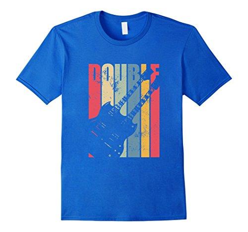 Vintage Double Neck Electric Guitar T-Shirt Double Neck Guitar T-shirt