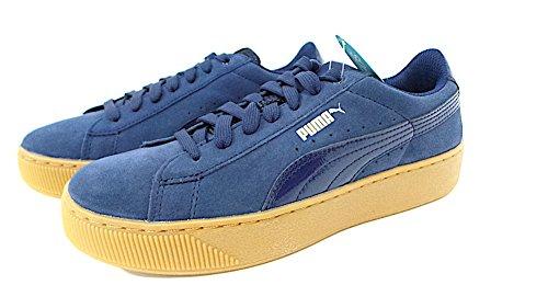 peacoat Femme Bleu Platform 02 Puma peacoat Tennis Vikky BSqPwppF
