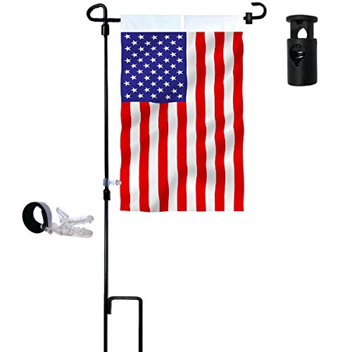 garden flag stand holder pole
