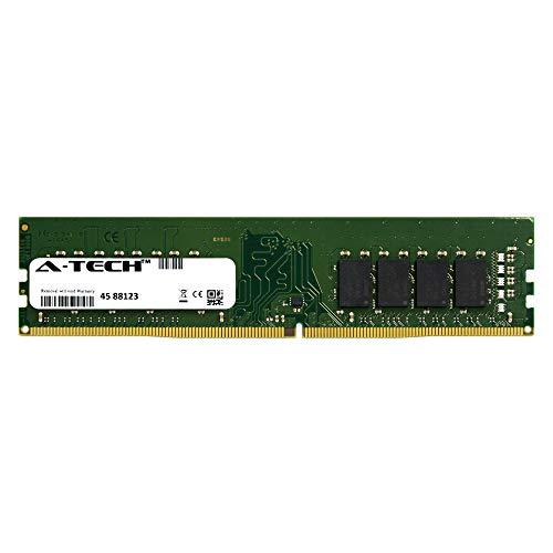 A-Tech 16GB Module 2400Mhz PC4-19200 288-Pin Dimm DDR4 1.2v Non ECC 2rx8 Desktop Computer Memory Ram Stick (AT16G1D4D2400ND8N12V) (Memory Dimm Desktop)