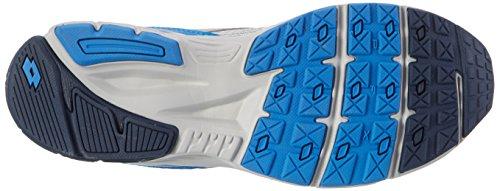 Lotto Speedride 600, Zapatillas de Running para Hombre Gris (Slv Mt/blu Avi)
