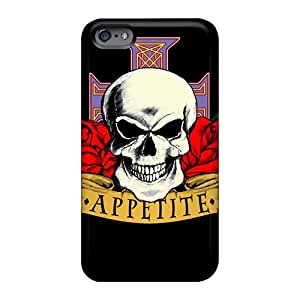 Shock-Absorbing Hard Cell-phone Cases For Iphone 6 With Unique Design High Resolution Guns N Roses Pictures KellyLast