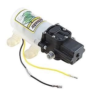AGPtek® DC 12V 45W High Pressure Micro Diaphragm Water Pump Automatic Switch 3.6L/min