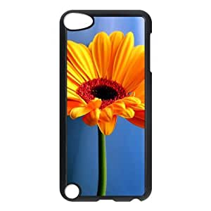 Custom Phone Case with Flower Wallpaper Image On The Back Fit To iPod Touch 5