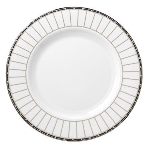 Lenox Platinum Onyx Salad Plate, White