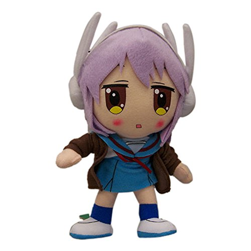 "Great Eastern The Melancholy of Haruhi Suzumiya 8"" Yuki Nagato Plush"