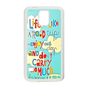 SVF Enjoy your life Cell Phone Case for Samsung Galaxy S5