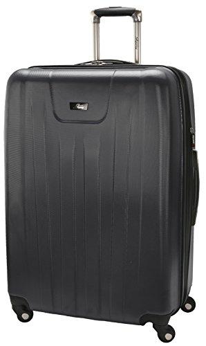 Expandable 4 Wheel Luggage (Skyway Nimbus 2.0 28-Inch 4 Wheel Expandable Upright, Black, One Size)