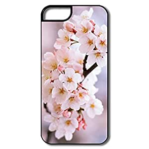 IPhone 5/5S Cases, Cherry Blossoms White/black Covers For IPhone 5