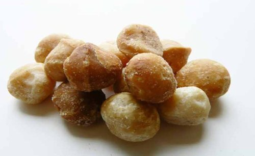 Roasted Macadamia Nuts (Unsalted) 5LB Bag (Bulk) by The Nutty Fruit House