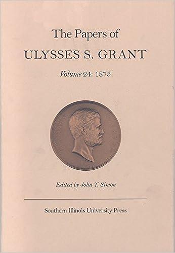 amazon the papers of ulysses s grant 1873 john y simon aaron