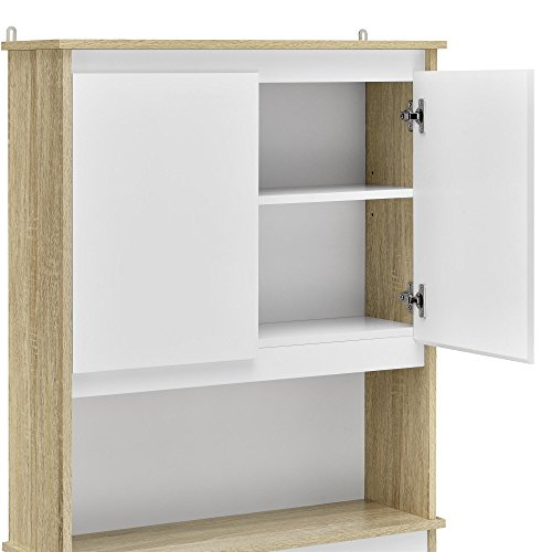 Ameriwood Home Stafford Storage Cabinet Weathered Oak by Ameriwood Home (Image #5)