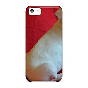 Hard Plastic Iphone 5c Case Back Cover,hot French Bulldog Puppy By Mayli Dsel Case At Perfect Diy