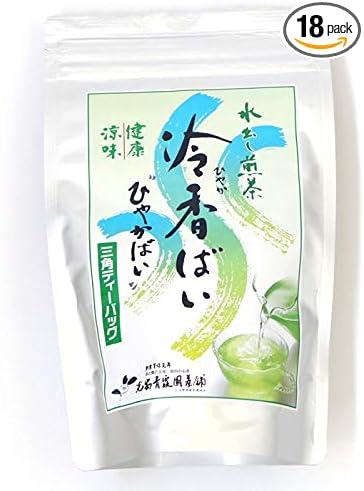 光安青霞園茶舗 水出し煎茶 冷香ばい 90g (5g×18p)