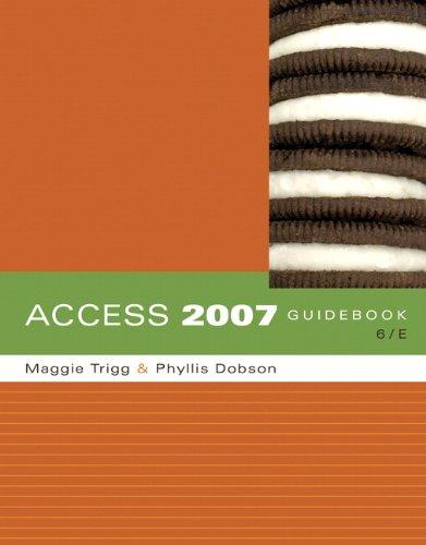 Access 2007 Guidebook