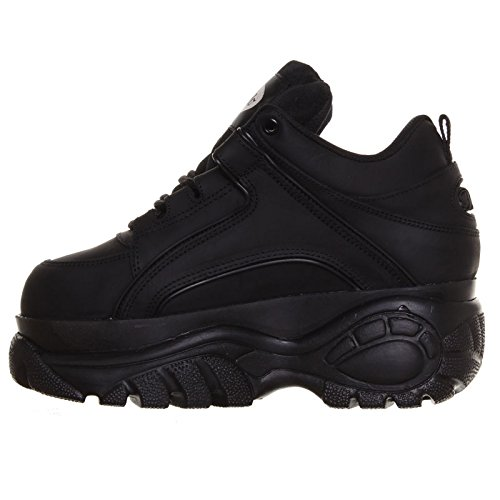 Shoes 1339 Black Leather 14 Womens Buffalo BFZxqzTax