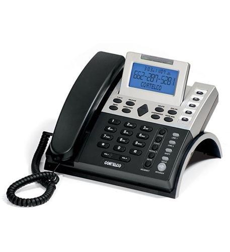 Cortelco 1220 00tp227s 2-line Cid Business Tel. -