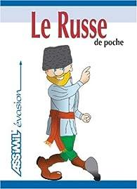 Book's Cover of Le Russe de Poche ; Guide de conversation